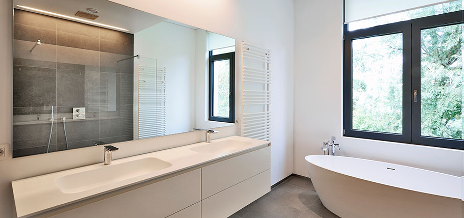 Tidlöshet genom flexibilitet när du renoverar badrummet